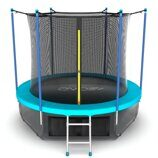 Батут EVO JUMP Internal 12ft (Wave) + нижняя сеть