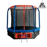 Батут DFC JUMP BASKET 8FT-JBSK-B с сеткой